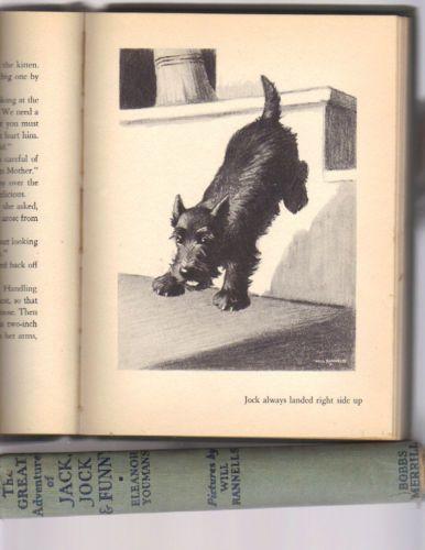 vintage-JACK-JOCK-FUNNY-1938-1st-edition-SCOTTIE-DOG-scottish-terrier-scotty-dog