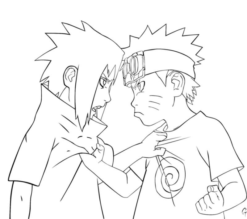 Have Fun With These Naruto Coloring Pages Ideas Naruto Sketch