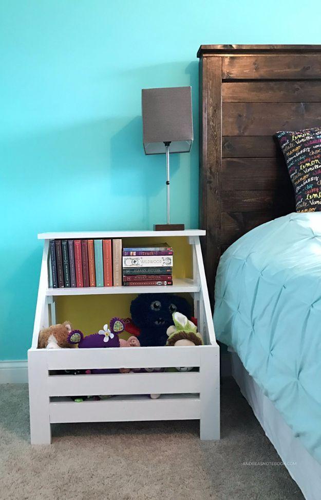 35 gorgeous diy nightstands for your bedroom  diy