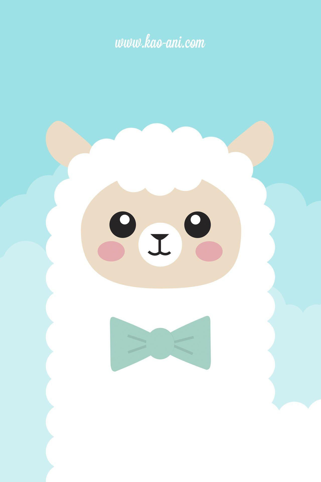 Alpaca IPhone Wallpaper