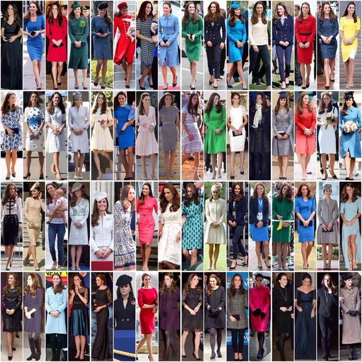 All the outfits Kate wore in 2014