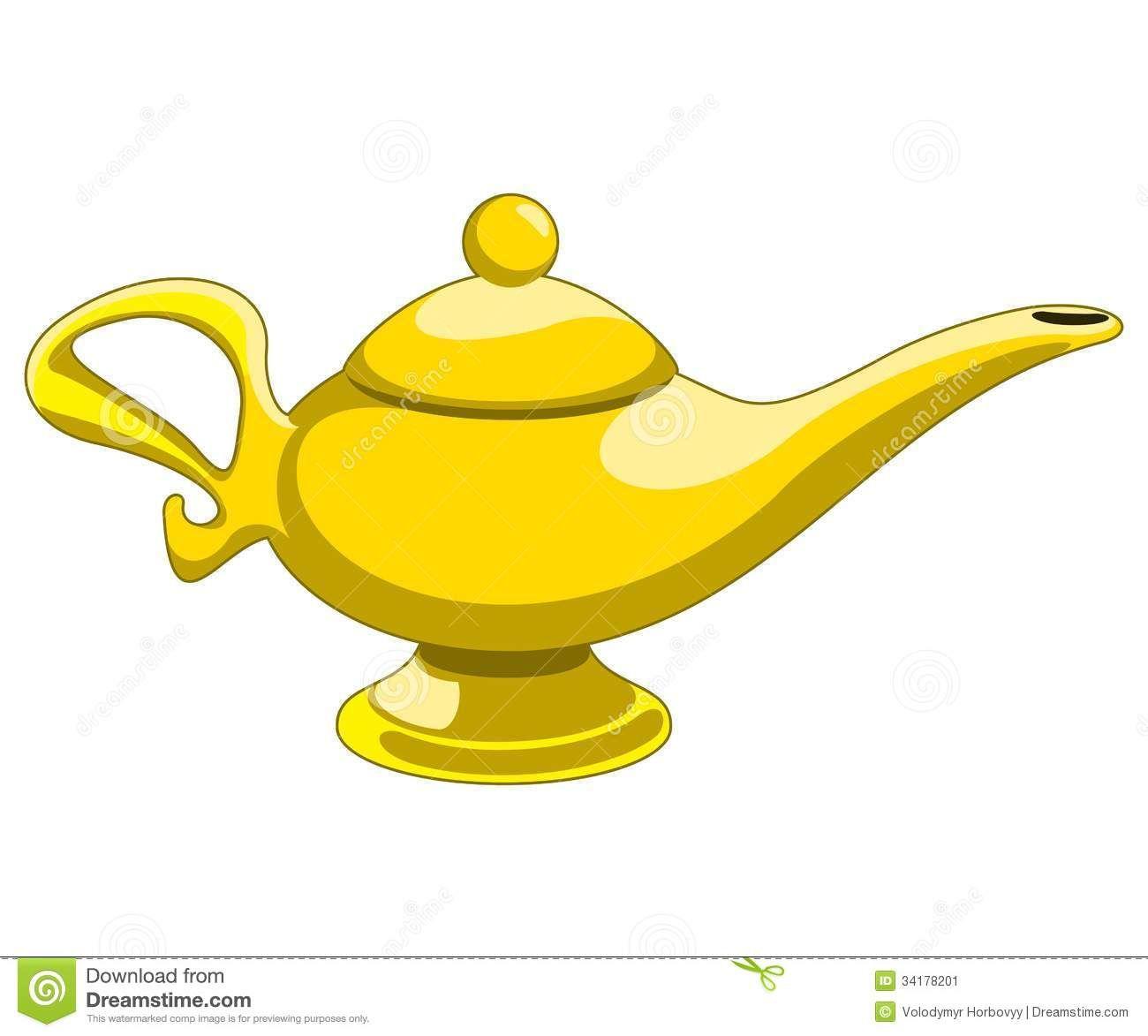 Http Thumbs Dreamstime Com Z Aladdin S Lamp Doodle Style Genie Vector Illustration 34178201 Jpg Magic Lamp Aladdin Lamp Genie Lamp