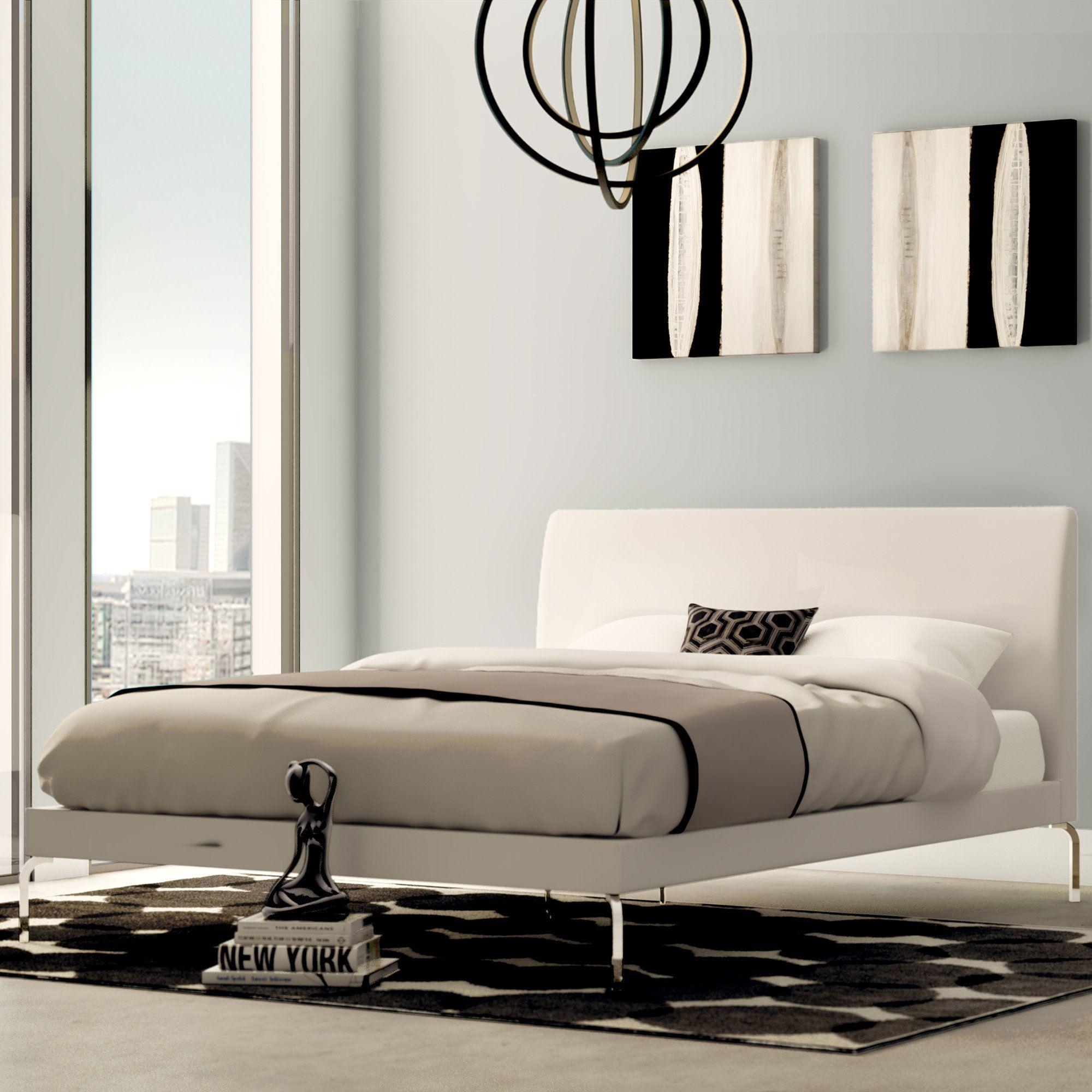 Best Drew Queen Upholstered Platform Bed Furniture 400 x 300