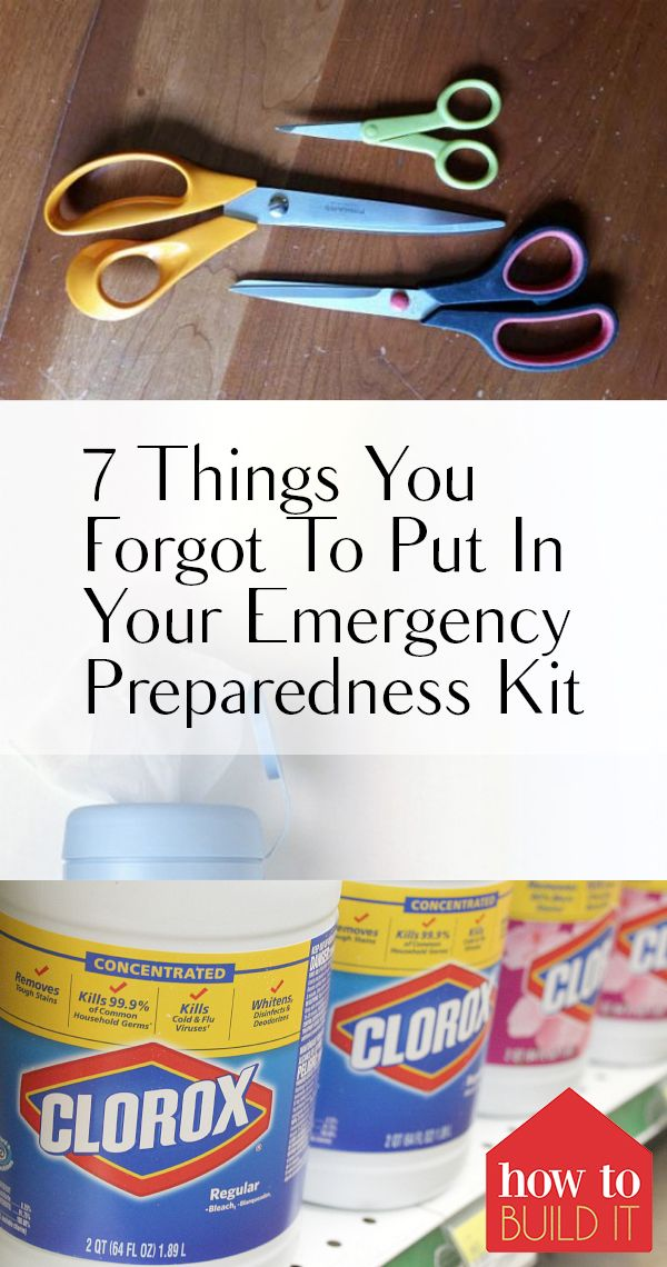 7 Things You Forgot To Put In Your Emergency Preparedness Kit