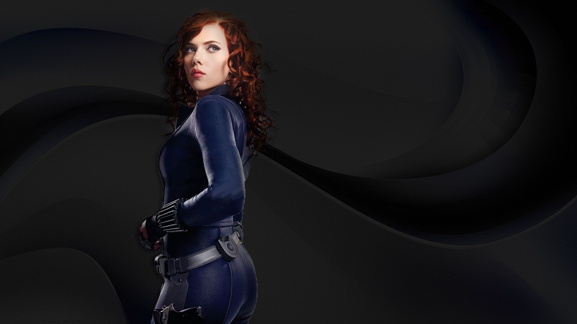 Iron Man  Black Widow iPhone