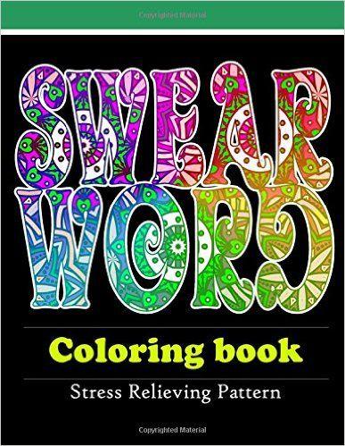 Amazon Swear Word Coloring Book Adult Volume 1
