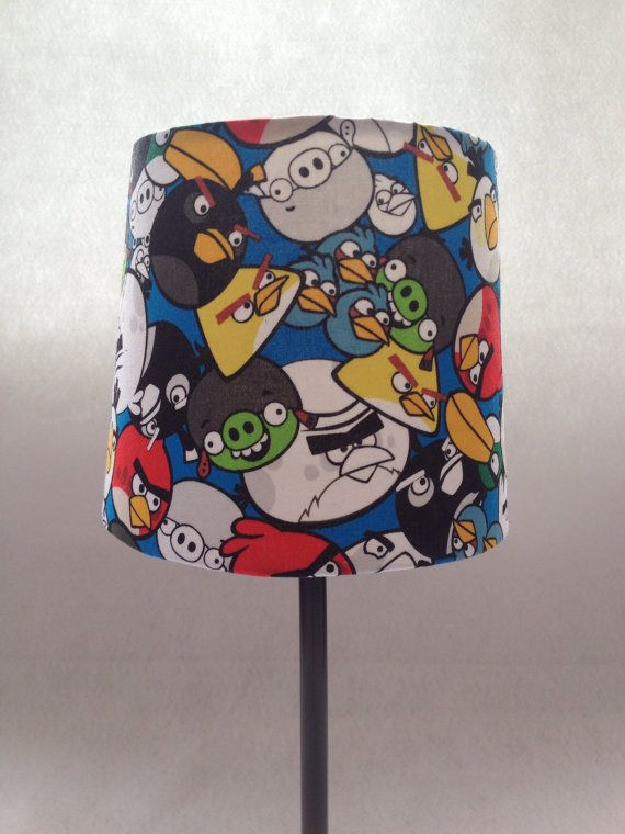 Angry Birds Lamp by BoxOfScraps on Etsy, $35.00