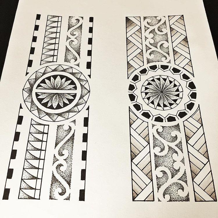 Pin De 一輝 丸山 Em トライバル Desenhos De Tatuagem Maori