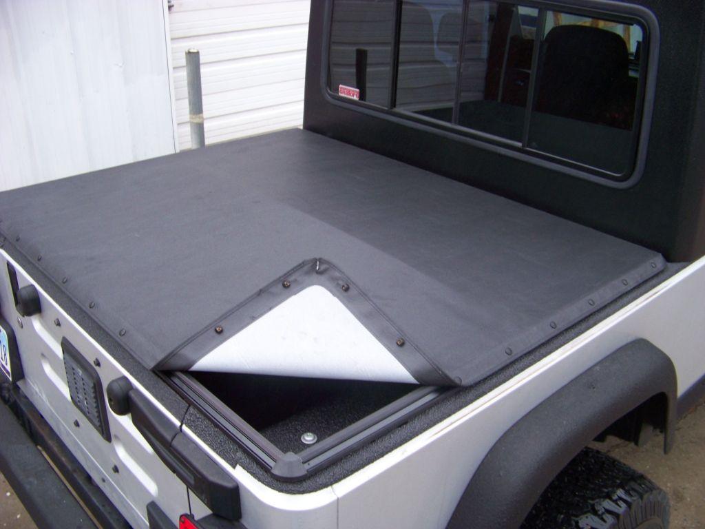 Lj Xtop Half Hardtop Kit Tonneau Cover Wrangler Folding Tonneau Covers