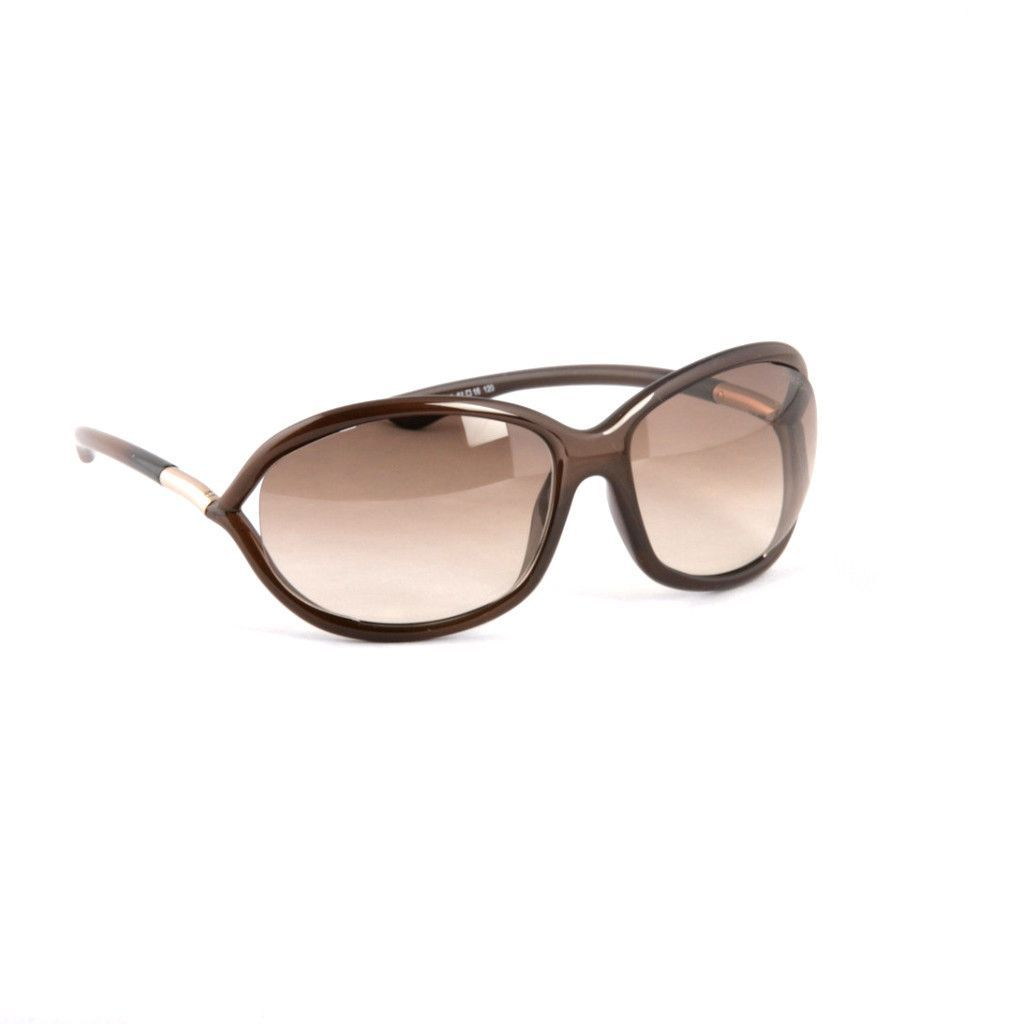 b81472fca41bb TOM FORD -Jennifer FT008-692 BROWN Sunglasses