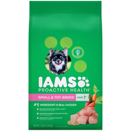 Iams Proactive Health Small Toy Breed Adult Dry Dog Food Chicken