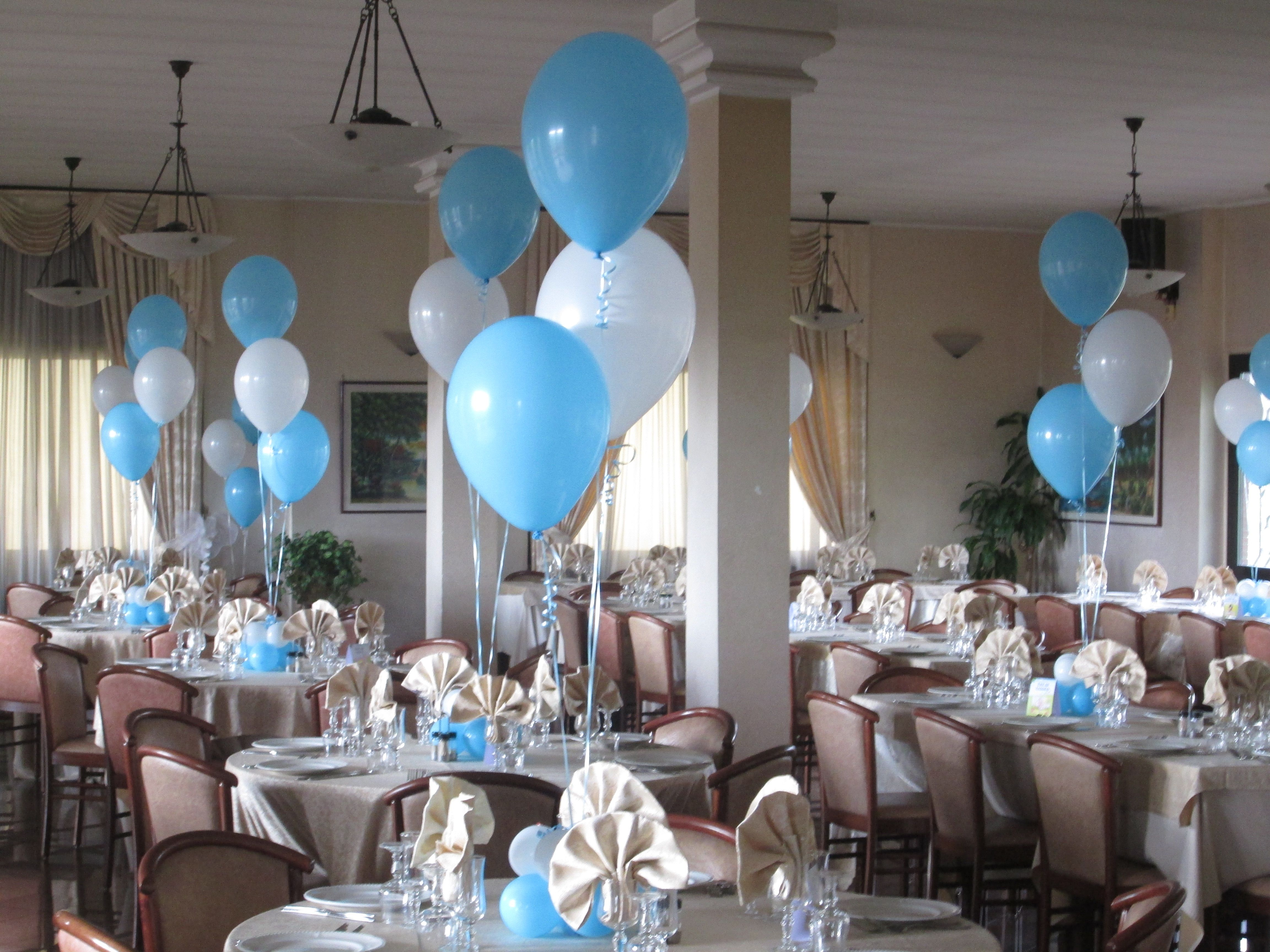 Allestimento ristorante my ideas pinterest for Idee palloncini per battesimo