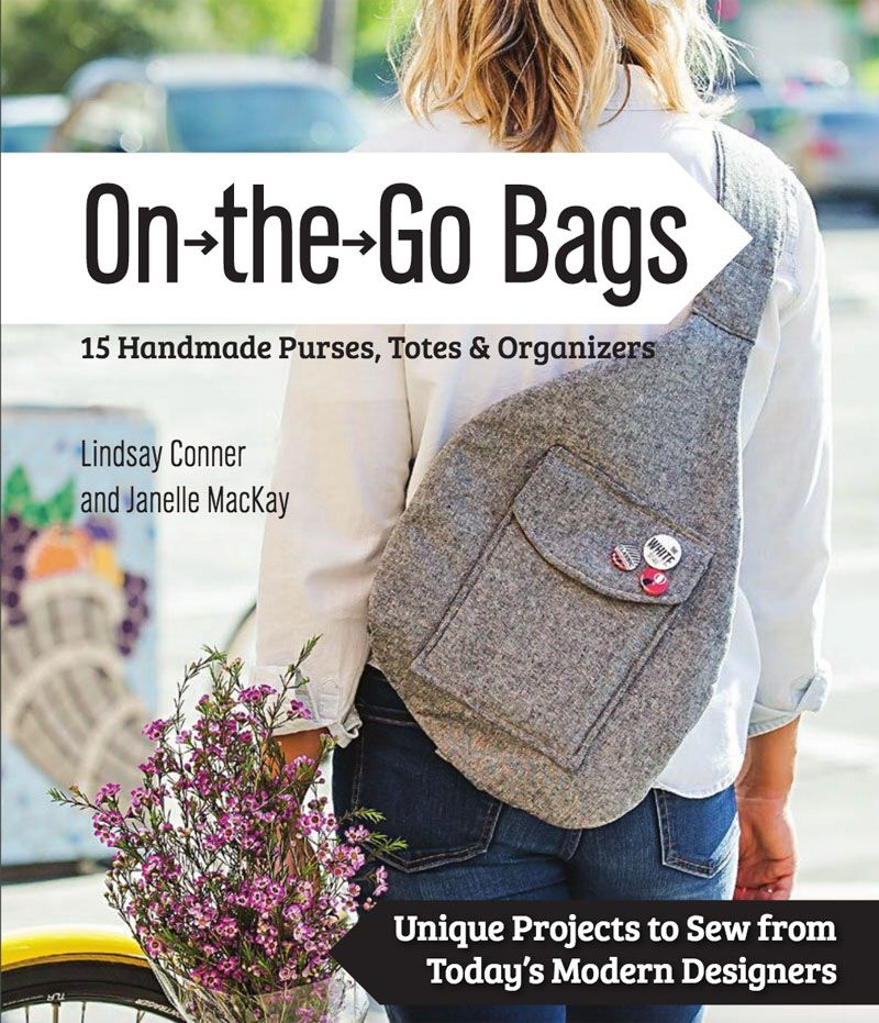 Free Tote Bag Pattern from On the Go Bags | Taschen nähen, gute ...