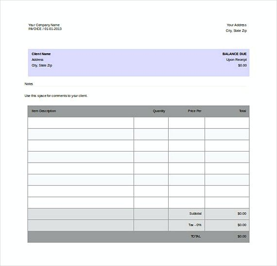 free company invoice word format templates templates for invoices