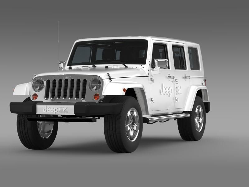Jeep Wrangler Electric Vehicle Concept Jeep Wrangler Unlimited