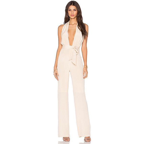 Misha Collection Melita Pantsuit ($360) ❤ liked on Polyvore featuring rompers & jumpsuits