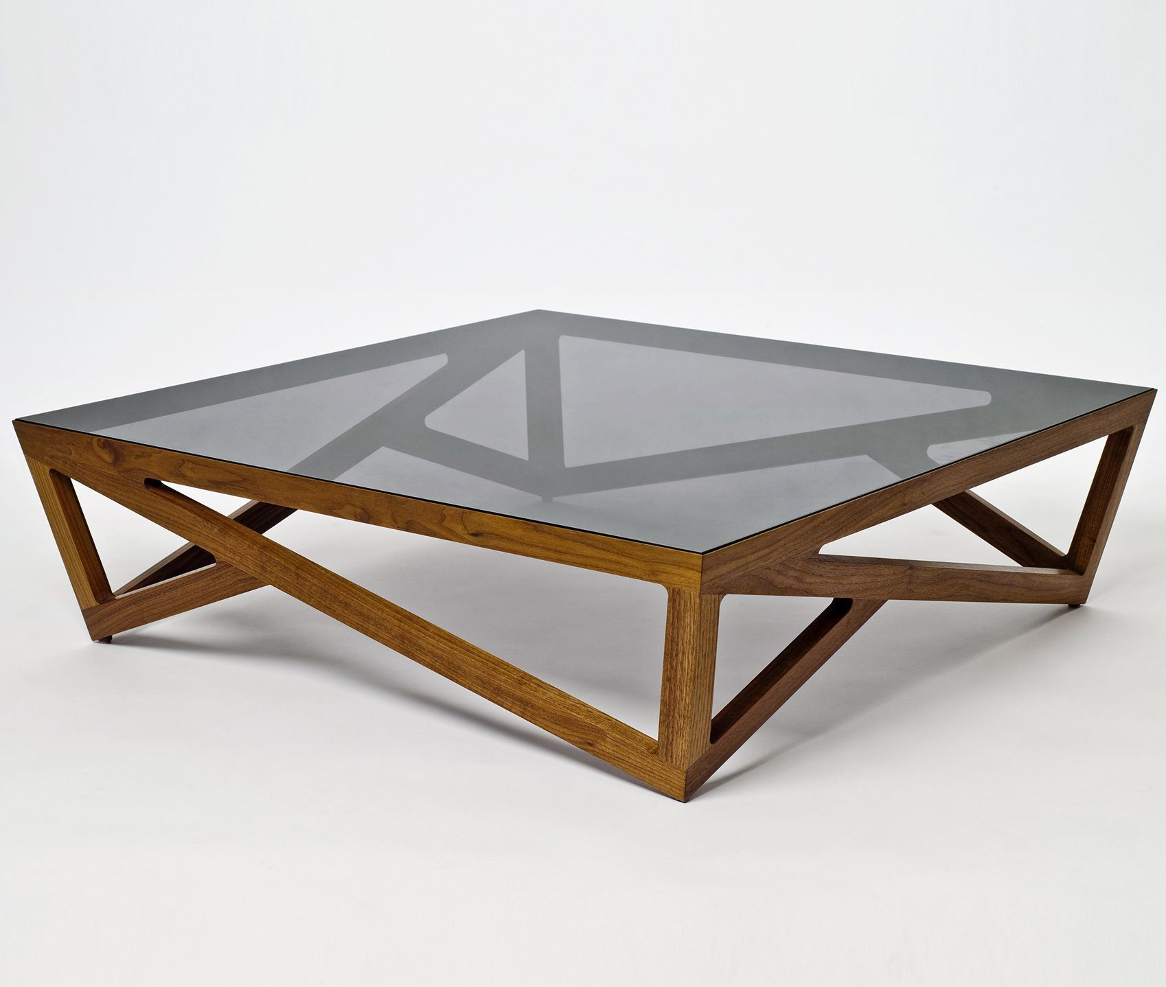Perfect A Glass Topped Coffee Table With A Hardwood Lattice Base Inspired By The  Elegant Iron Structure Of The Parisian Landmark. Available In Solid Walnut  And ...