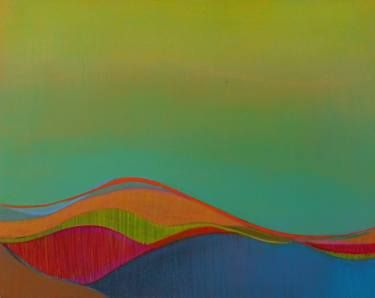 "Saatchi Art Artist Karen Cole; Painting, ""Twilight Desert 1"" #art"