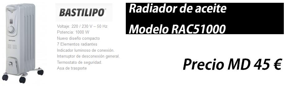 BASTILIPO - Gama de radiadores para calentar tu hogar este invierno! http://www.materialdirecto.es/es/radiador/63149-bastilipo-rac5-1000-radiador-de-fluido-termico-1000w-5-elementos.html