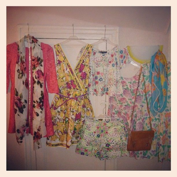 Deciding what to wear :)