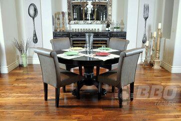 The Nighthawk Poker Dining Table The Nighthawk Poker Table Has