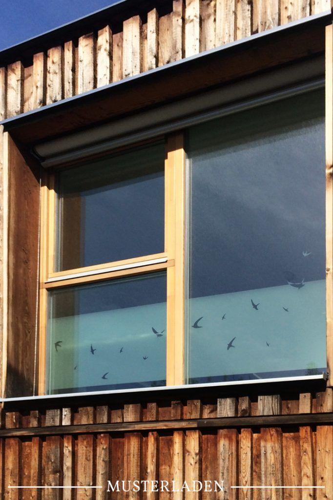 Sichtschutz für Fenster mit Folien Musterladen