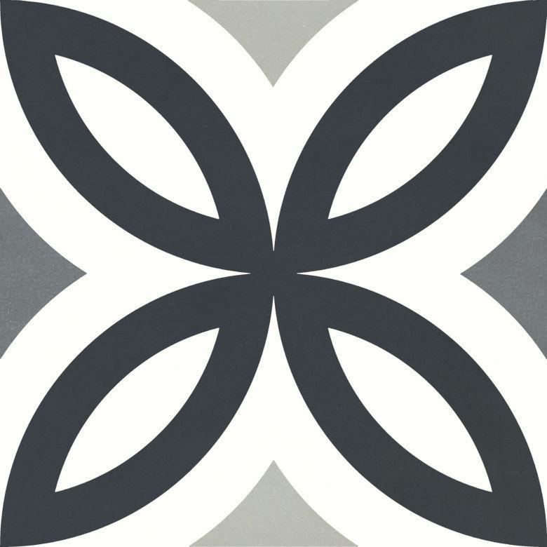 Carrelage Decor Helios Quart Rosace 20 3 X 20 3 Cm En 2020 Carrelage Carreaux Ciment Imitation Carreaux De Ciment