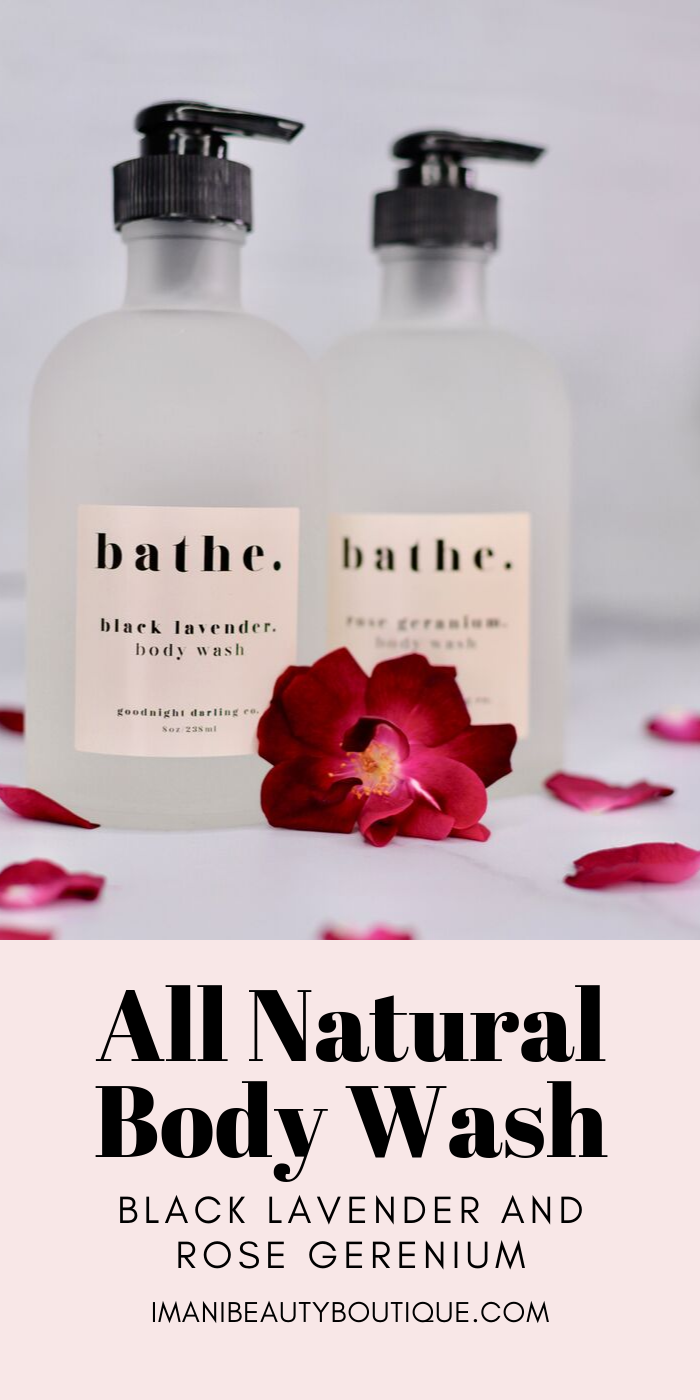 Body Wash Rose Geranium Natural body wash, Body wash