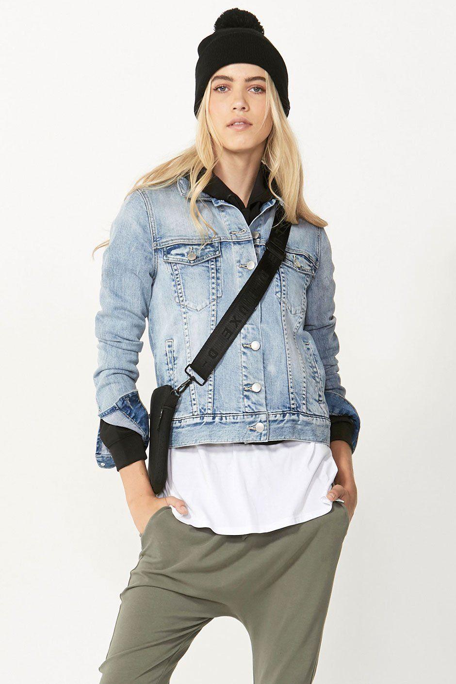 sale retailer top style agreatvarietyofmodels Luxe Sienna Denim Jacket – DECJUBA NZ   Denim Jacket in 2019 ...