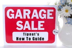 Garage Sale ideas