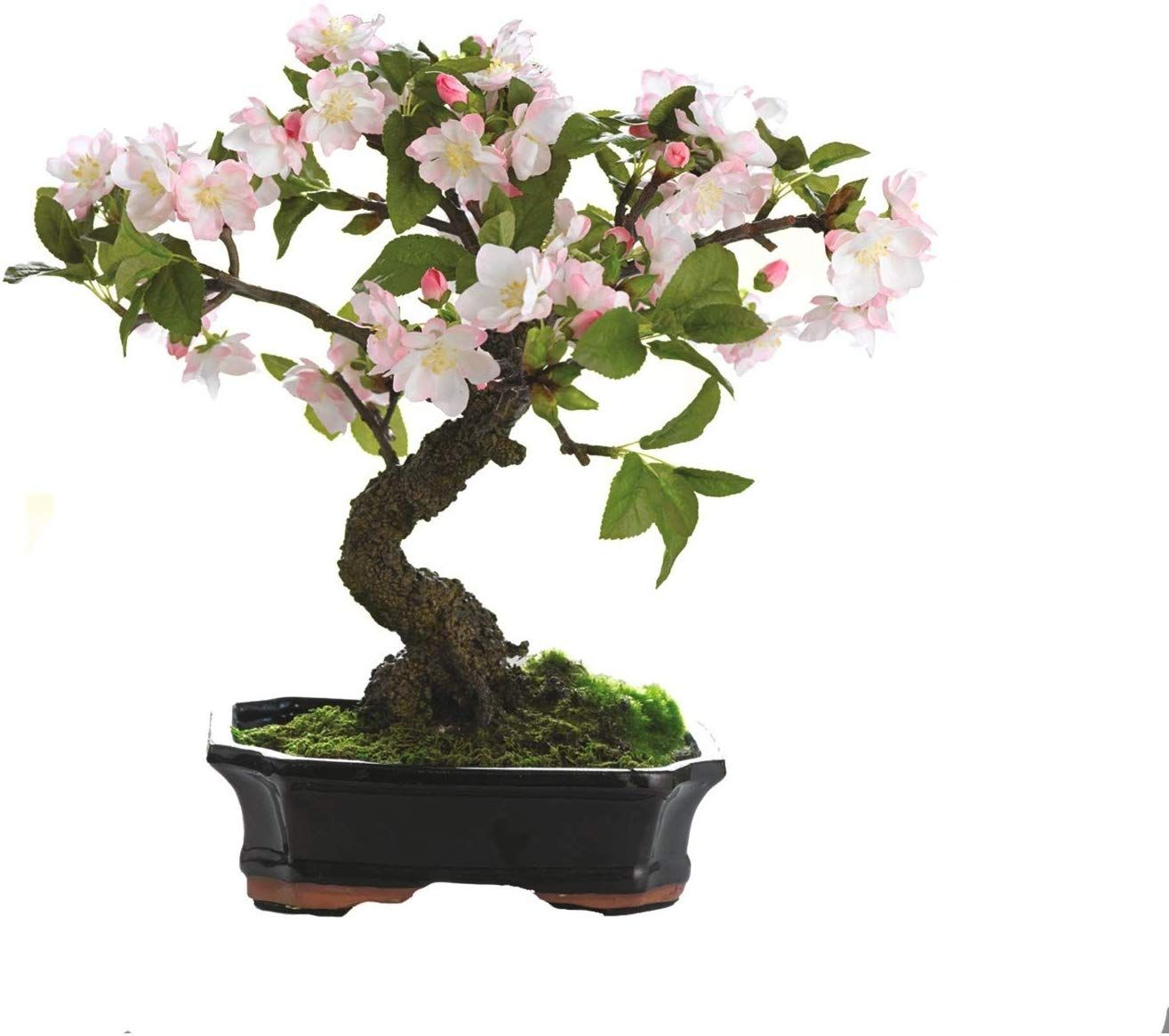 Cherry Blossom Bonsai Tree Bush Plant Artificial Pink