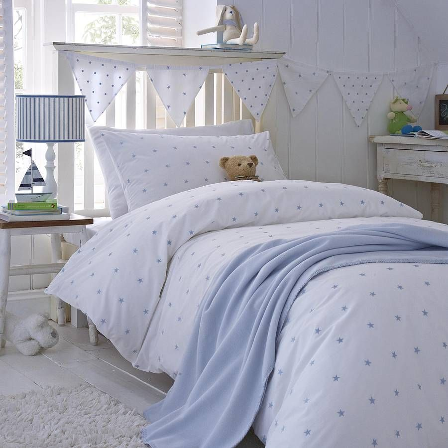 Etonnant Pink Stars Organic Cotton Bedding