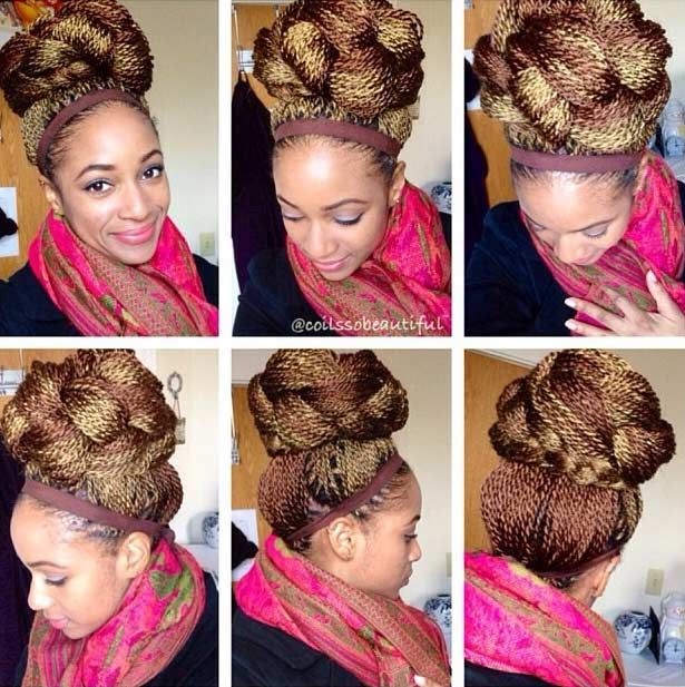 41 beautiful micro braids hairstyles senegalese twist updo updo 41 beautiful micro braids hairstyles pmusecretfo Gallery