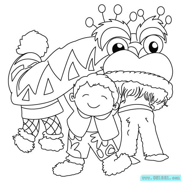Coloring Pages Happy New Year In Vietnamese