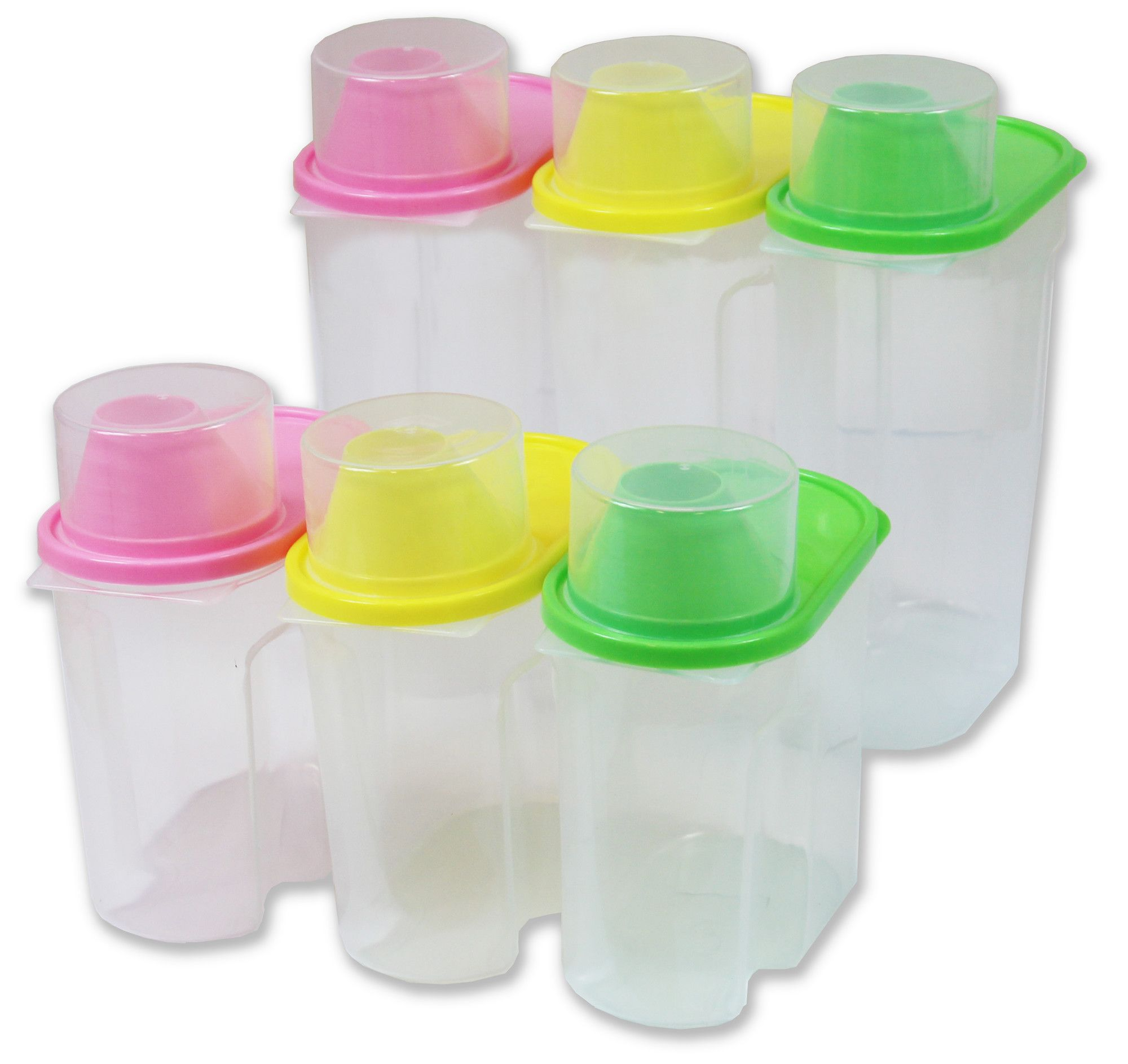 Plastic Kitchen Food Saver 12 Piece Food Storage Container Set