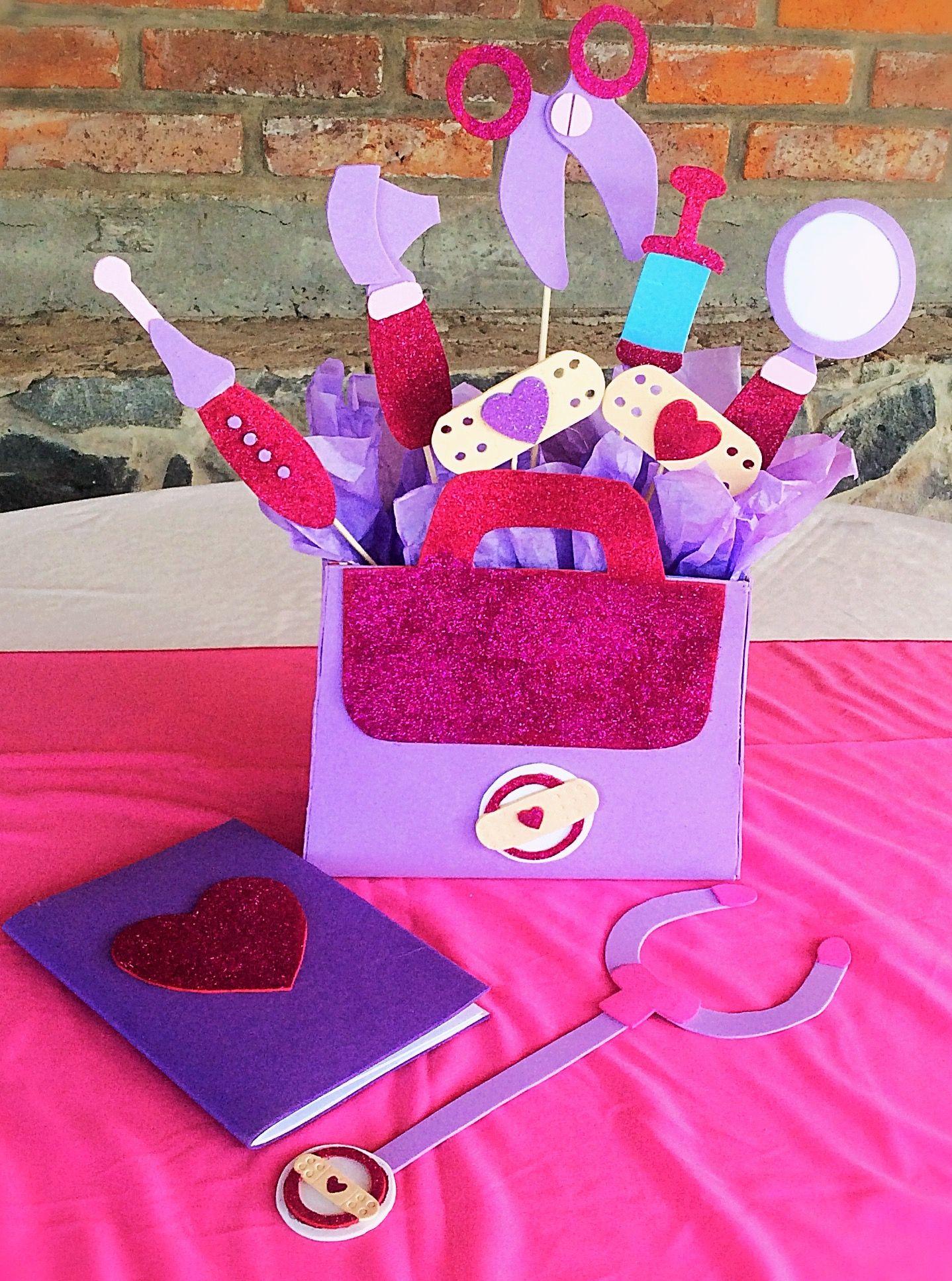 Centerpiece Doc Macstuffins Doctora Juguetes Twin Birthday Parties 3rd Ideas