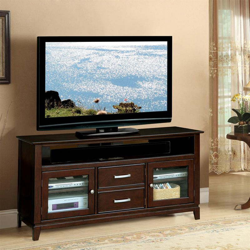 Riverside 65845 Marlowe 60 Inch TV Console Discount Furniture At Hickory  Park Furniture Galleries