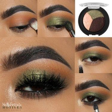 Photo of # svart øye med sminke # er øyesminkefjerner nødvendig # øye-sminke for store øyne …