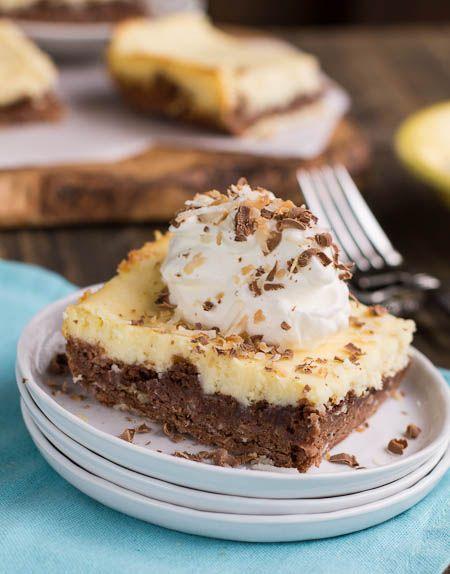 Chocolate Cheesecake Brownies alemão