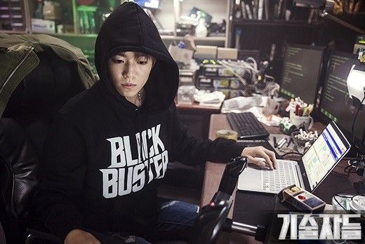 "New Stills from ""The Technicians"" Show Lee Hyun Woo as Genius Hacker"