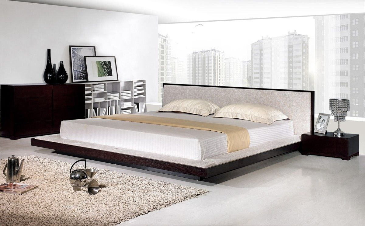 Here Is A Collection Of 25 Amazing Platform Beds For Your Inspiration Not All Of These Opti Contemporary Platform Bed Modern Platform Bed Platform Bed Designs