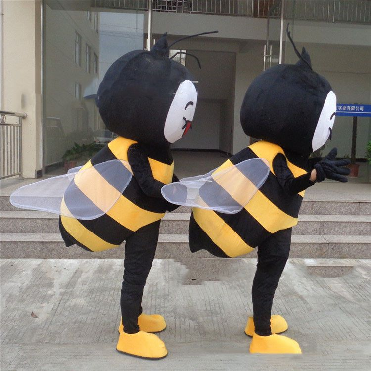 58c2bfd71358 Honeybee Bee Mascot Costume Cosplay Outfit Parade Fancy Dress Insects  Unisex New (eBay Link)