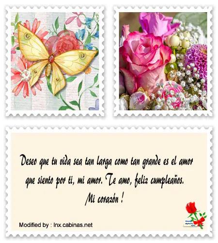 postales con frases de cumpleaños románticos.#FrasesDeCumpleañosRománticos