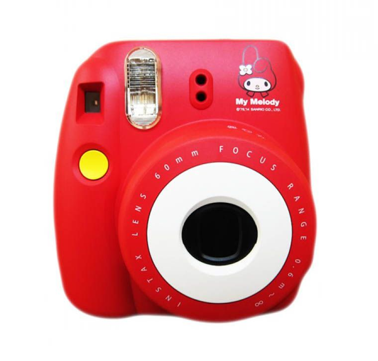 My Melody Red Instax Mini 8s By Fujifilm This Cute Camera With Red Color And Cute Camera Instax Mini Instax
