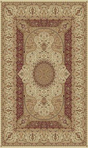 Tabriz 3916 Cream 100% Polypropylene Elegant Persian Area Rug
