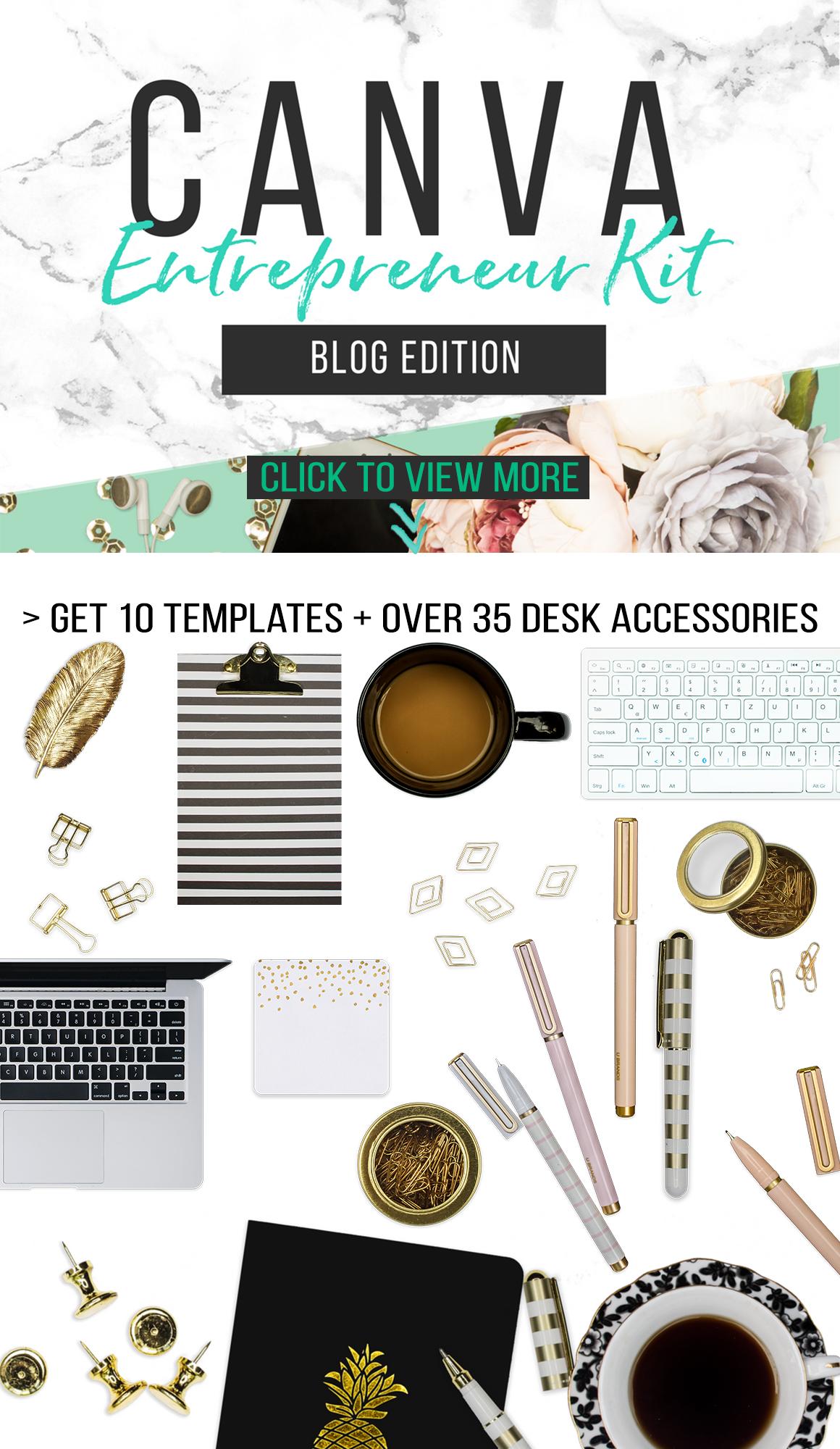Scene Creator And Templates For Canva Blog Headers Design