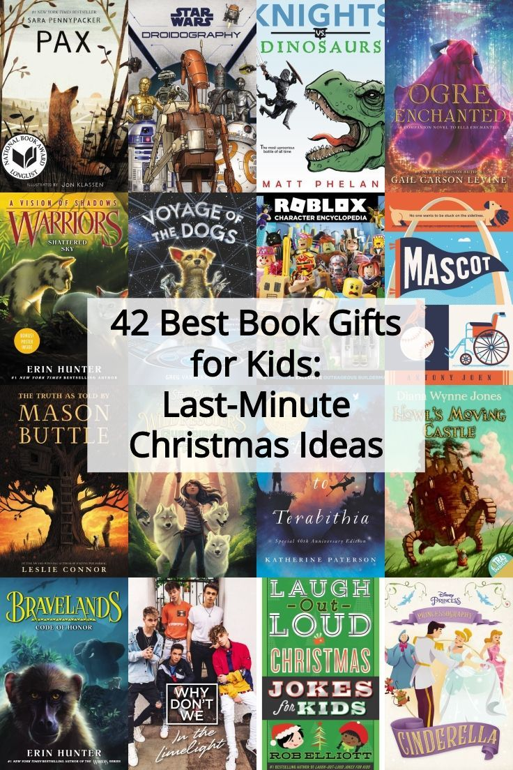 42 best book gifts for kids lastminute christmas ideas