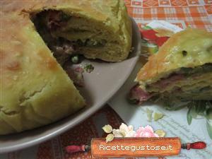 Un'idea per un antipasto o secondo gustoso ? pan brioche crudo e piselli--  http://www.ricettegustose.it/Antipasti_vari_1_html/Pan_brioche_salato_crudo_e_piselli.html