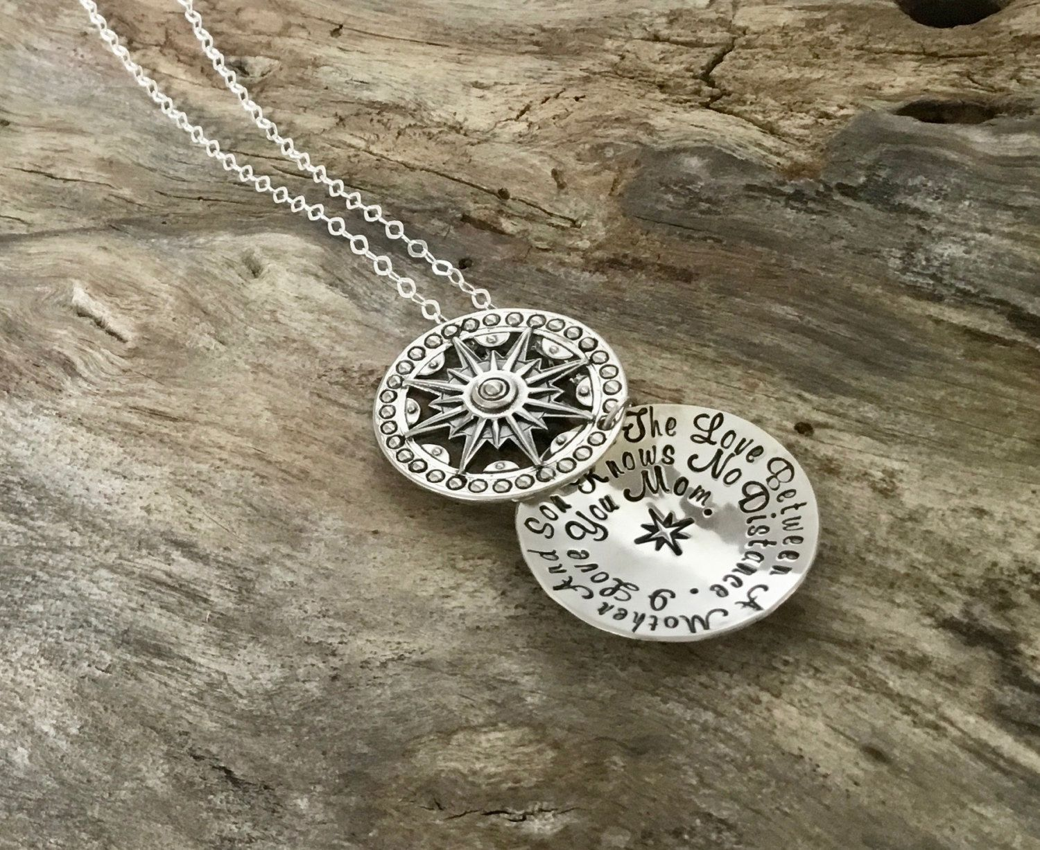 Mothers gift/The Love Between a Mother and Son Necklace - Mother ...