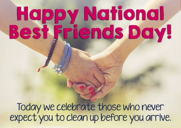 Happy Best Friends Day Tag A Friend Or Share This Post And Give